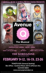 AVENUE Q POSTER Revised